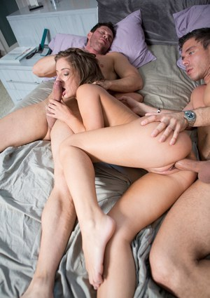 foursome blindfolded